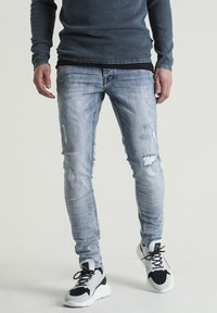 CHASIN' - Slim fit jeans - blue - 0