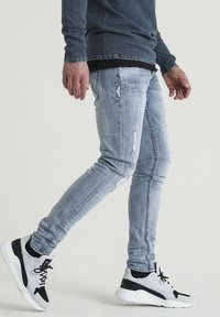 CHASIN' - Slim fit jeans - blue - 1