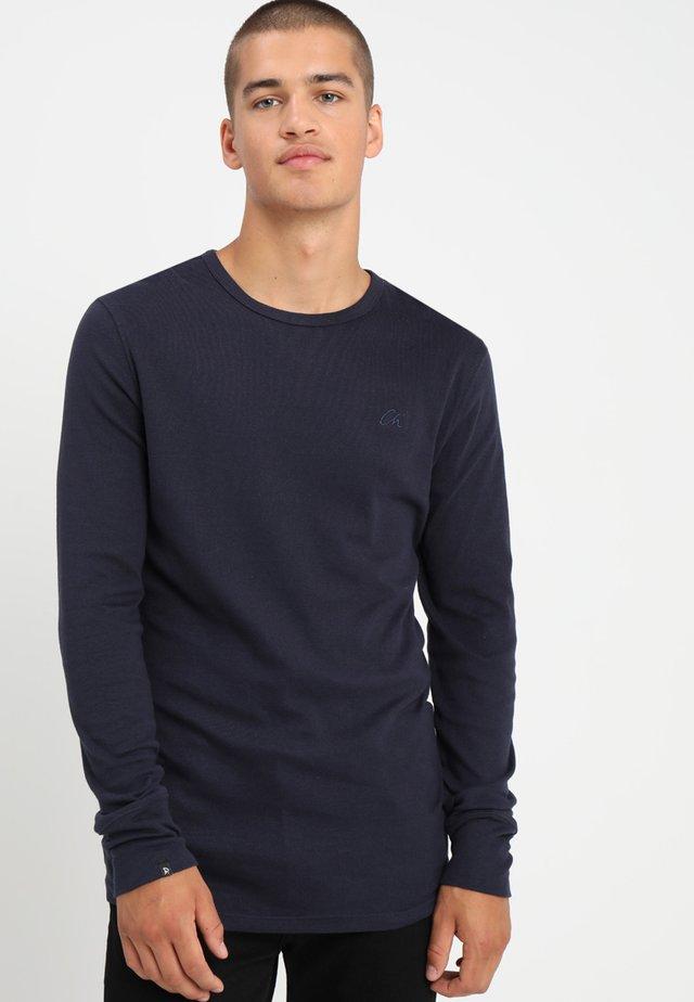 DAMIAN - Långärmad tröja - navy