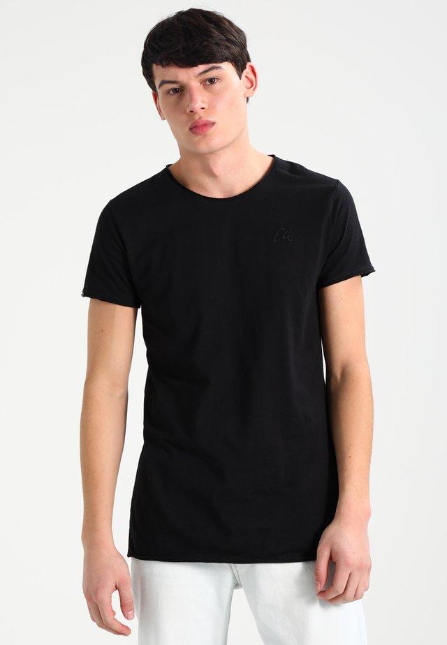 EXPAND - T-shirt basique - black