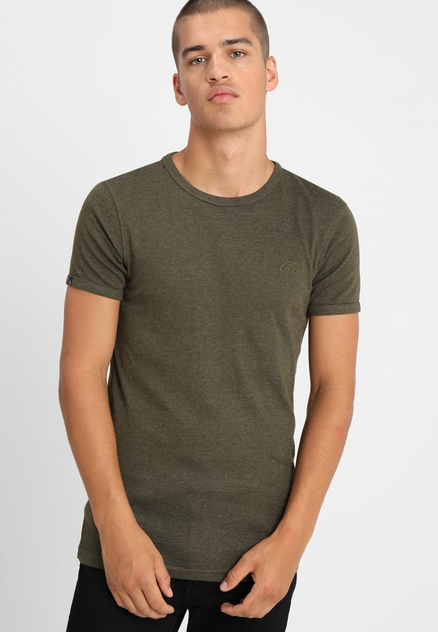 BASE - T-Shirt basic - green