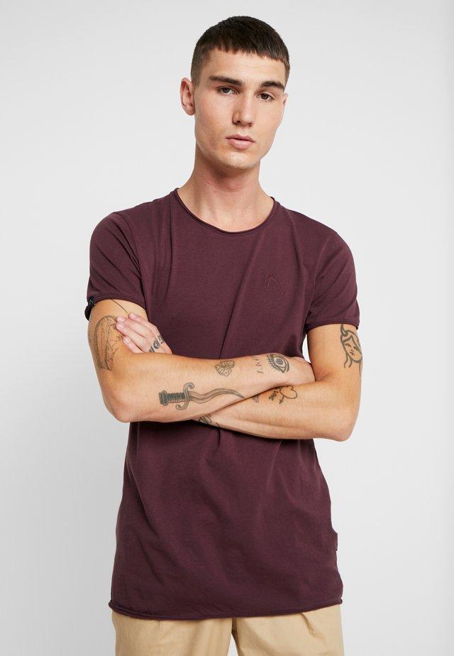 EXPAND - T-Shirt basic - burgundy