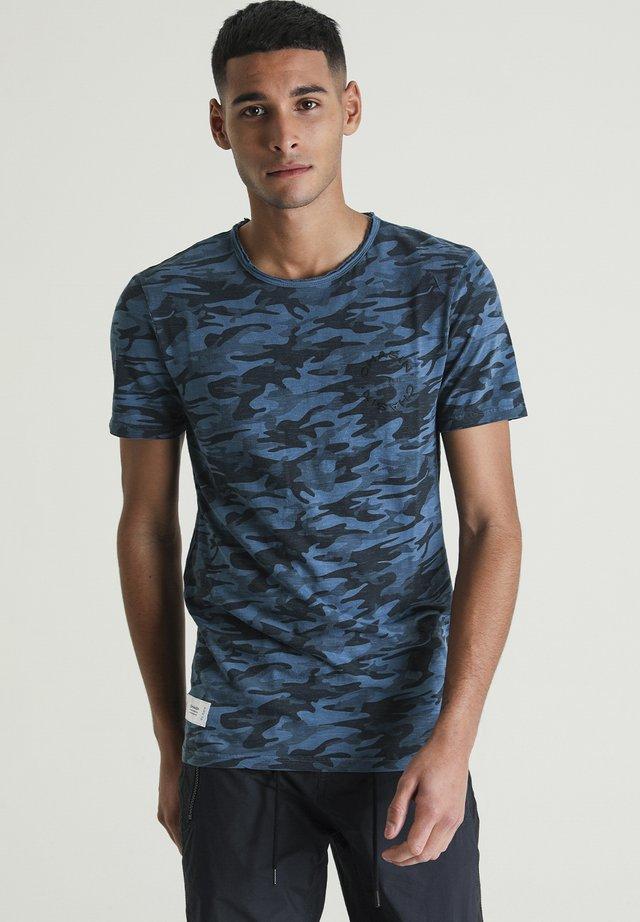 EVANS - T-shirt print - blue