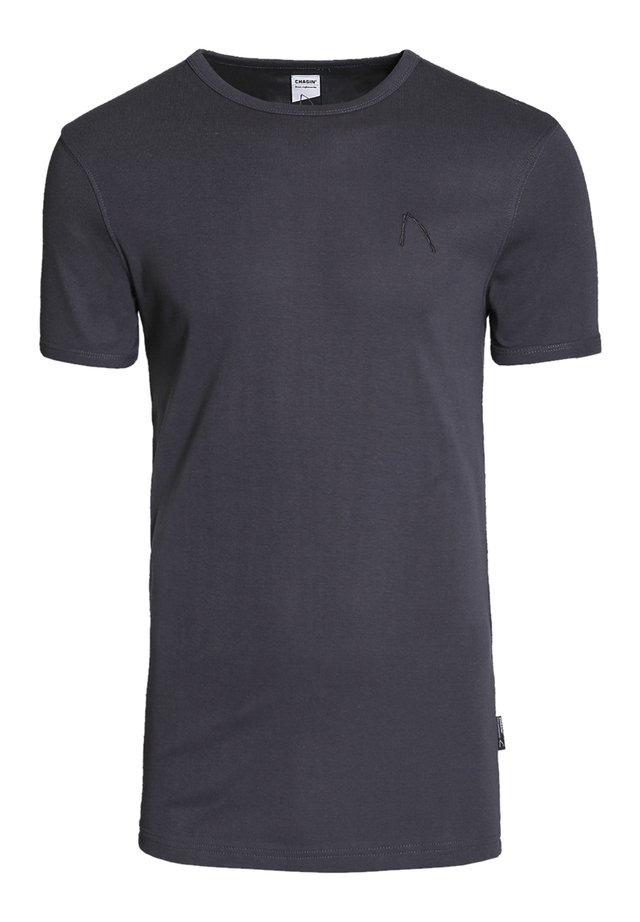 BASE-B - Basic T-shirt - grey