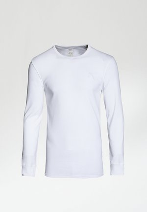 DAMIAN-B - Longsleeve - white