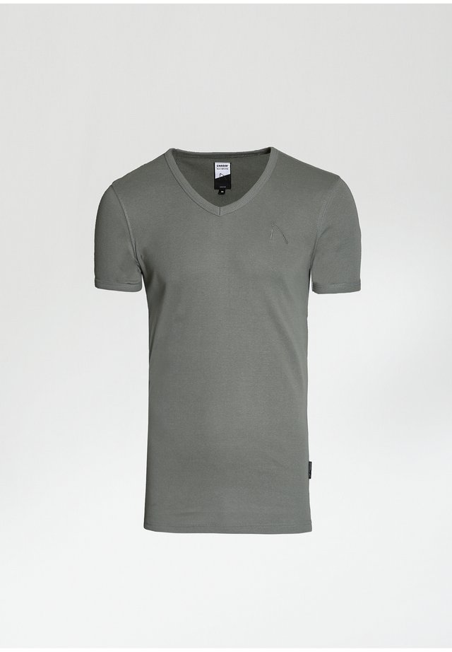 CAVE C - T-shirt basic - green