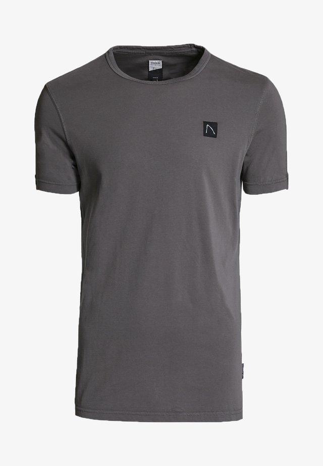 APPOLLO - Basic T-shirt - grey