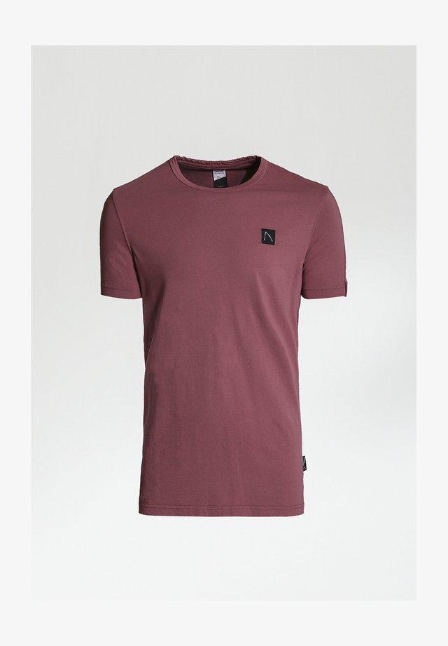 APPOLLO - Basic T-shirt - red