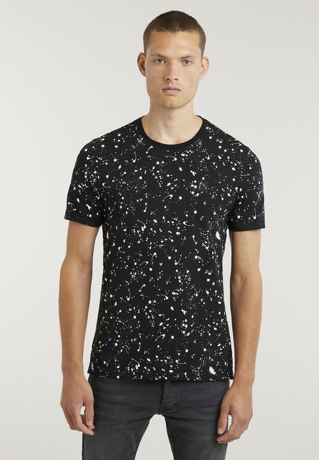 LEO - Print T-shirt - black