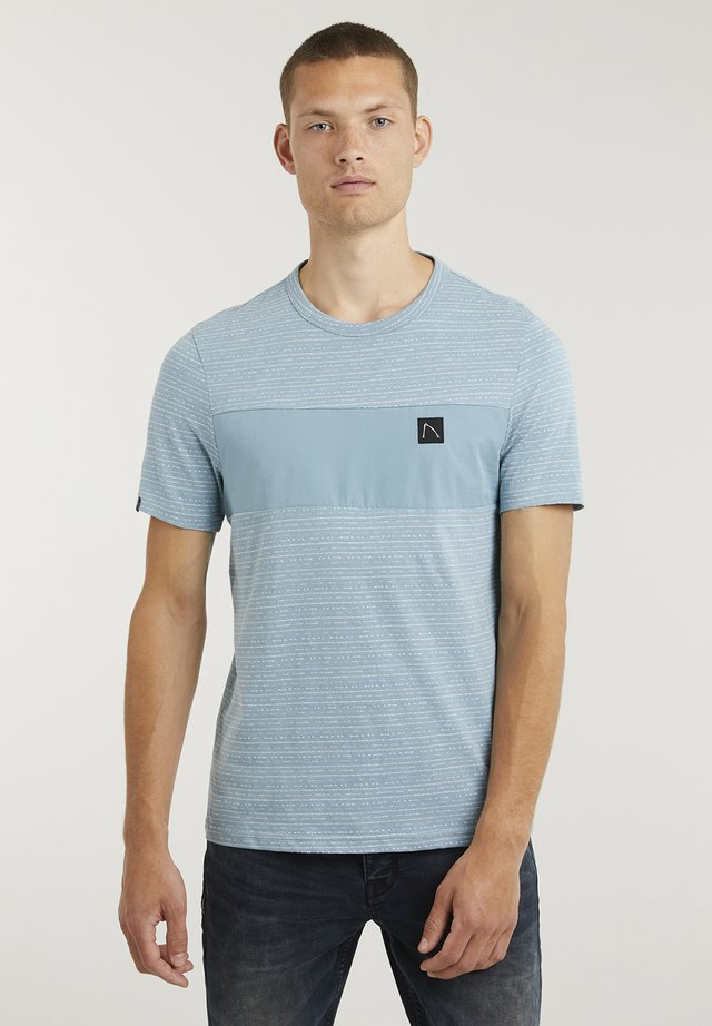 ORION - Print T-shirt - blue