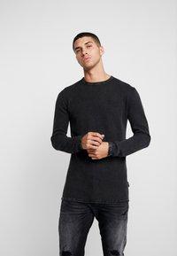 CHASIN' - BASAL - Stickad tröja - black - 0