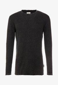 CHASIN' - BASAL - Stickad tröja - black - 3