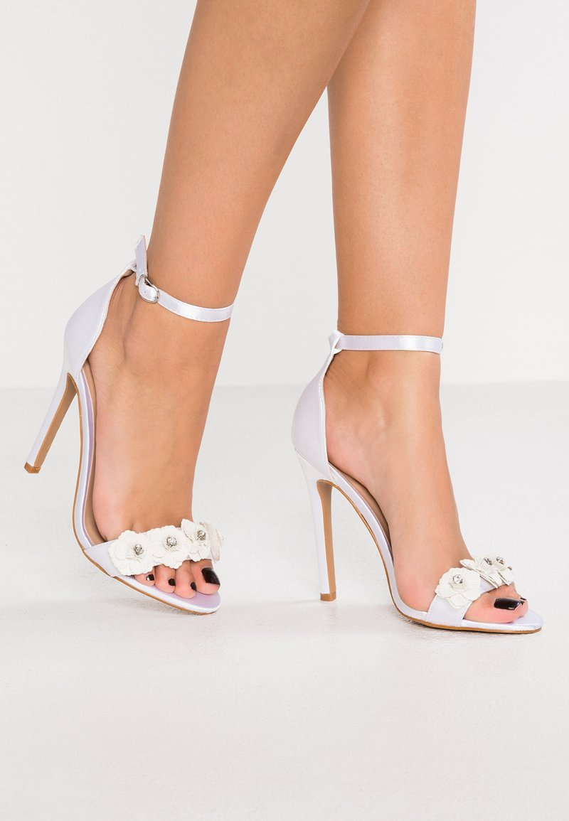 Chi Chi London - BONITA - High heeled sandals - ivory