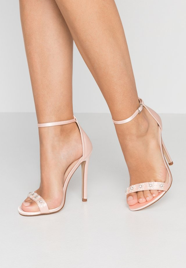 LEILANI - Sandály na vysokém podpatku - pink
