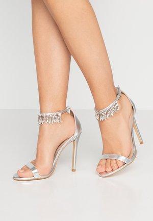 ROSIE - High heeled sandals - silver