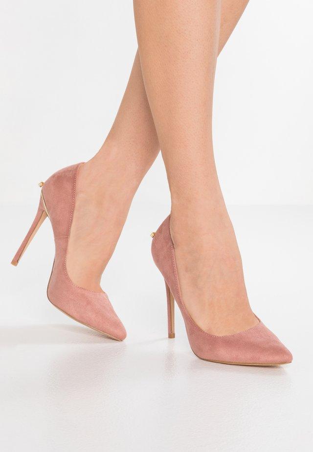 MAKAYLA - Lodičky na vysokém podpatku - pink