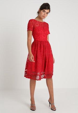 LILITH - Koktejlové šaty/ šaty na párty - red
