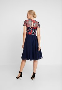Chi Chi London - MERYN DRESS - Sukienka koktajlowa - navy - 3