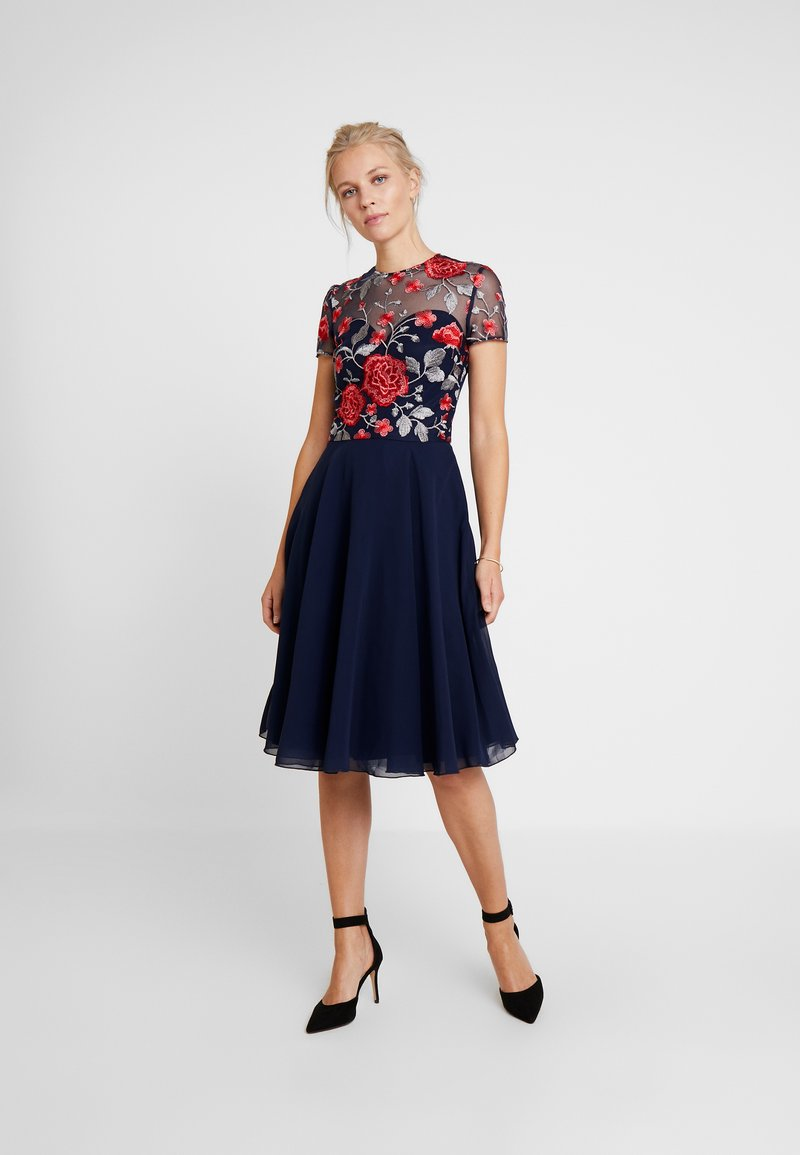 Chi Chi London - MERYN DRESS - Cocktail dress / Party dress - navy