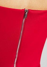 Chi Chi London - ECHO DRESS - Vestido de fiesta - red - 5