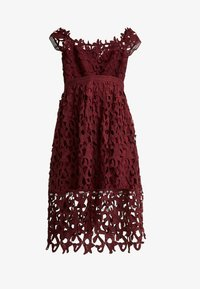 Chi Chi London - LIZANA DRESS - Vestido de cóctel - burgundy - 5
