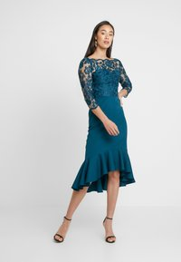 Chi Chi London - AMANIEDRESS - Suknia balowa - teal - 2