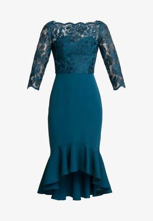 AMANIEDRESS - Společenské šaty - teal