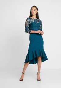 Chi Chi London - AMANIEDRESS - Suknia balowa - teal - 0