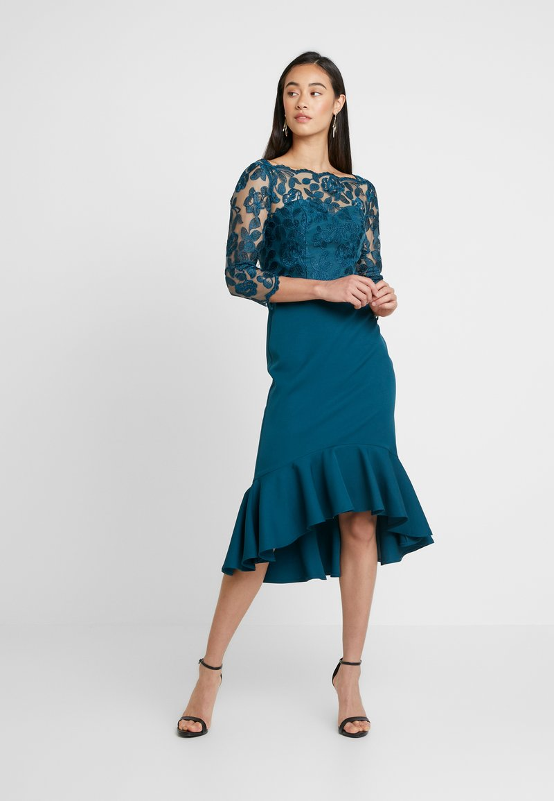 Chi Chi London - AMANIEDRESS - Suknia balowa - teal