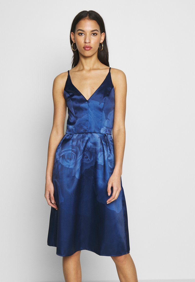 Chi Chi London - SEYMOUR DRESS - Cocktail dress / Party dress - navy
