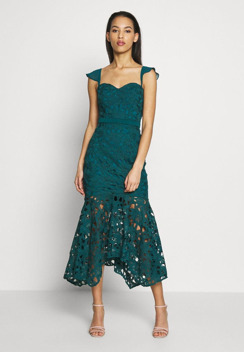 Chi Chi London - LUPITA DRESS - Galajurk - teal