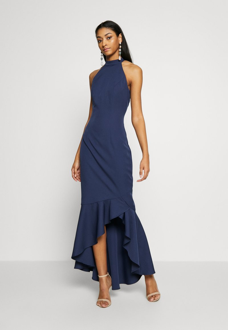 Chi Chi London - BRISTLEY DRESS - Abito da sera - navy