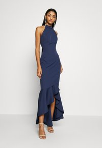 Chi Chi London - BRISTLEY DRESS - Abito da sera - navy - 1