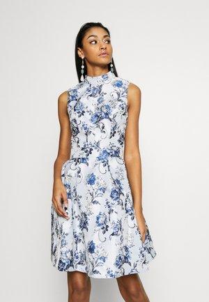 ELOWEN DRESS - Korte jurk - blue