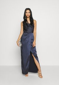 Chi Chi London - ALVIA DRESS - Galajurk - navy - 1