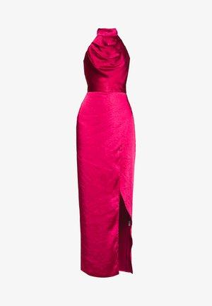 CHRYSTA DRESS - Galajurk - burgundy