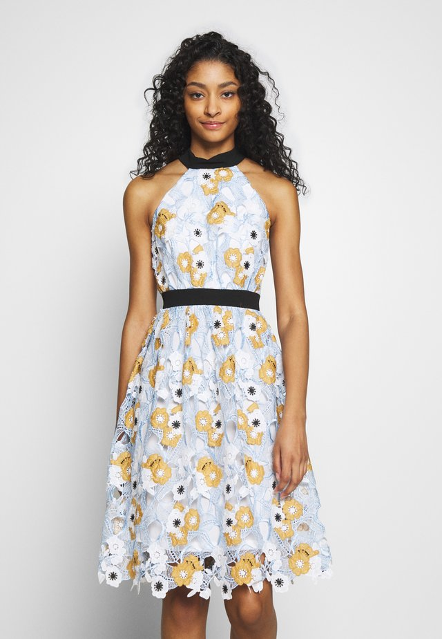 CHESTER DRESS - Cocktailklänning - blue