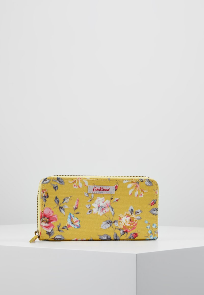 Cath Kidston - CONTINENTAL ZIP WALLET - Portefeuille - yellow