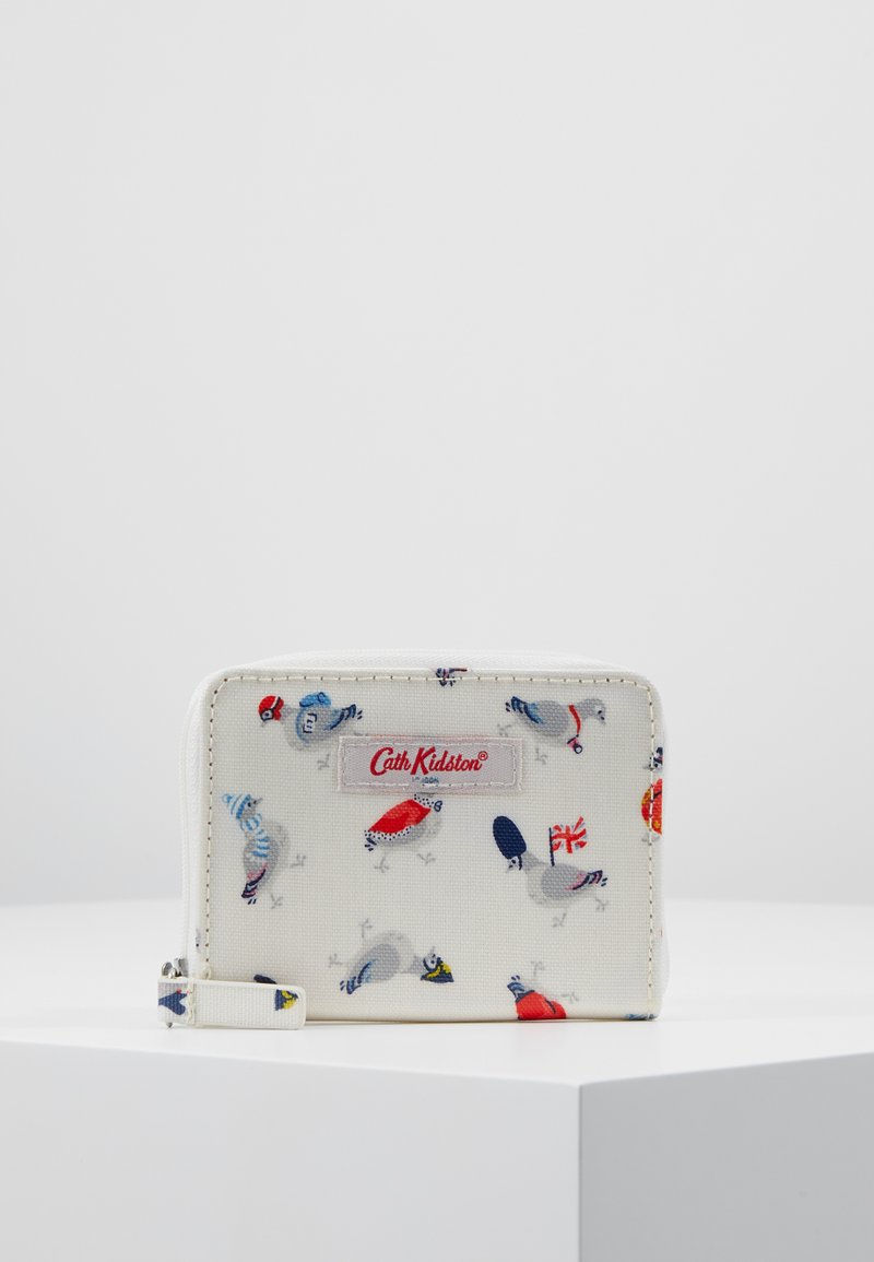 Cath Kidston - MINI CONTINENTAL WALLET - Portfel - cream