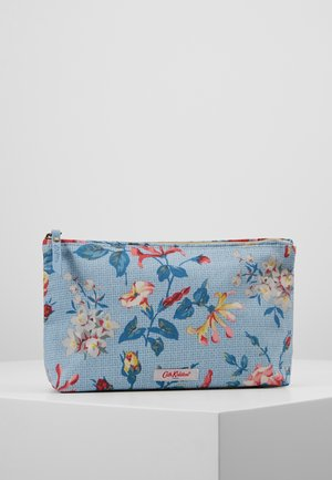 MATT ZIP COSMETIC BAG - Kosmetiktasche - chalk blue