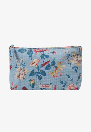 MATT ZIP COSMETIC BAG - Trousse - chalk blue