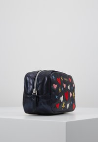 Cath Kidston - EMBROIDERED BOX COSMETIC BAG - Kosmetiktasche - navy - 4