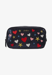 Cath Kidston - EMBROIDERED BOX COSMETIC BAG - Kosmetiktasche - navy - 1