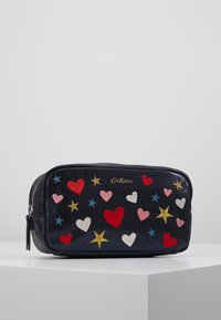 Cath Kidston - EMBROIDERED BOX COSMETIC BAG - Kosmetiktasche - navy - 0