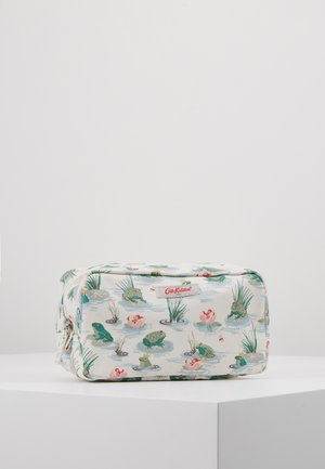 BOX COSMETIC BAG - Kosmetická taška - warm cream