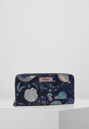 CONTINENTAL ZIP WALLET - Lompakko - navy