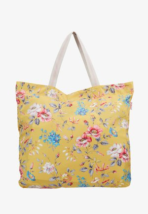 LARGE FOLDAWAY TOTE - Shopping bag - yellow