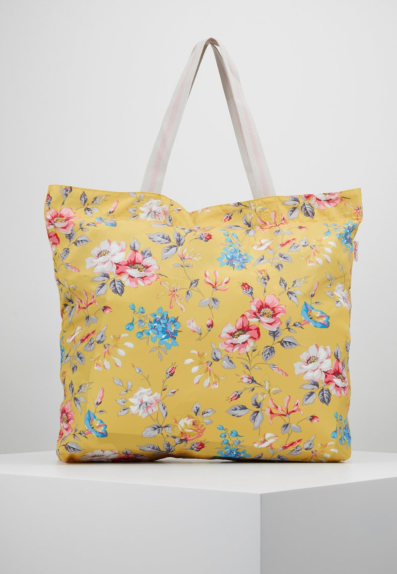 Cath Kidston - LARGE FOLDAWAY TOTE - Shopping bags - yellow