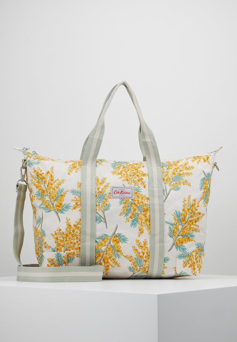 Cath Kidston - FOLDAWAY OVERNIGHT BAG SET - Taška na víkend - warm cream