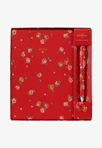 Cath Kidston - NOTEBOOK AND PEN SET - Accessoires - red - 1